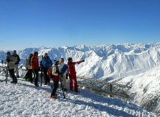 Skiing in Val Senales from september until may